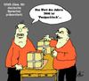 Cartoon: Immer nah am Menschen (small) by Marbez tagged gfds,wort,jahres,2016