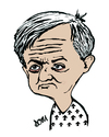 Cartoon: Chris Huhne (small) by Dom Richards tagged huhne,politician,caricature,uk