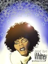 Cartoon: whitney Houston (small) by semra akbulut tagged whitney,houston,semra,akbulut