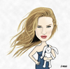 Cartoon: Rosie Huntington Whiteley (small) by emraharikan tagged rosie,huntington,whiteley