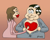 Cartoon: Lovebook (small) by gunberk tagged love,relationship