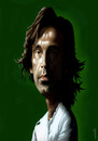 Cartoon: andrea pirlo (small) by Medi Belortaja tagged andrea,pirlo,italian,italy,soccer,team,football,euro,2012
