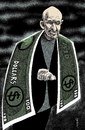 Cartoon: hamid karzai (small) by Medi Belortaja tagged hamid,karzai,afghanistan