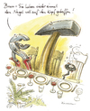 Cartoon: Bravo (small) by Riemann tagged hammer,nagel,bankett,werkzeug,handwerker,tools