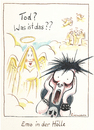 Cartoon: Emo (small) by Riemann tagged emo,emotional,tod,gothik,grufti,teenager,kult,himmel,hölle,depression,heaven,hell,life,death,scream,schrei,fashion,mode