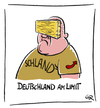 Cartoon: Limit (small) by Riemann tagged limit,deutschland,afd,flüchtlinge,refugees,cartoon,george,riemann