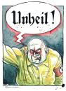 Cartoon: Unheil ! (small) by Riemann tagged nazis,neonazi,faschismus,glatzen,vergangenheit,hass