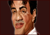 Cartoon: Stallone (small) by BOHEMIO tagged stallone