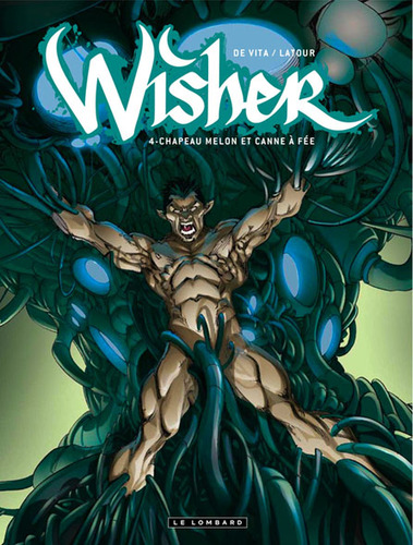 Cartoon: Wisher T4 cover (medium) by giuliodevita tagged wisher,bd,comics,cover,giulio,vita