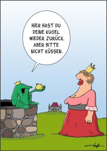 Froschkönig de luftzone | Médias et Culture Cartoon | TOONPOOL