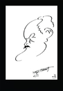 Cartoon: NAZIM HIKMET (small) by Dogan Can Alpaslan tagged nazim,hikmet