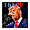 Cartoon: The Truthmp (small) by Al-Cane tagged trump,truth,lies,wahrheit,lüge