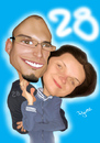 Cartoon: Caricature (small) by Pajo82 tagged caricature