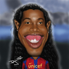 Cartoon: Ronaldinho (small) by Pajo82 tagged ronaldinho