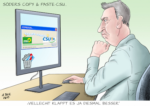 Die Copy and Paste CSU