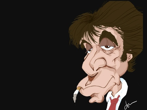 Cartoon: Al Pacino - Sea of Love (medium) by Andyp57 tagged caricature,wacom,painter