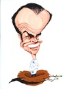 Cartoon: Jack Nicholson (small) by Andyp57 tagged caricature,gouache