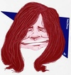 Cartoon: Janus Joplin (small) by Andyp57 tagged caricature,gouache
