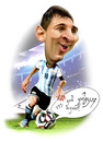 Cartoon: Lionel Messi (small) by besikdug tagged lionel,messi,barcelona,besikdug,footballargentina
