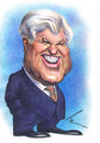 Cartoon: Ted Kennedy (small) by besikdug tagged usa,georgia,ted,kennedy,karikature,besikdug