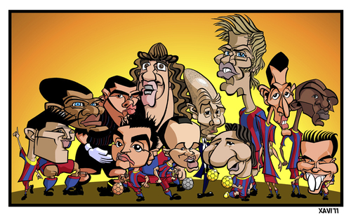 barcelona fc 2011 team photo. arcelona fc 2011 players.