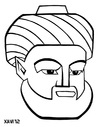 Cartoon: Maimonides (small) by Xavi Caricatura tagged maimonides,history,philosophy,medicine,caricature,cartoon