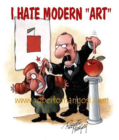 Cartoon: Modern art (medium) by Roberto Mangosi tagged art,modern
