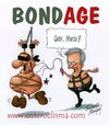 Cartoon: Bond age (small) by Roberto Mangosi tagged berlusconi,tremonti,economy,italy
