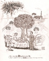 Cartoon: The Mormon Tree of Knowledge (small) by viconart tagged knowledge,lds,mormon,innocence,god,paradise,eden,natural,concentrate,sale,adam,eve,cartoon,viconart
