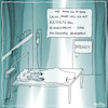 Cartoon: Koma (small) by kika tagged koma,wachkoma,intensivstation,its,klangschalen,maltherapie,tot,krankenhaus