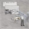Cartoon: wir sprechen uns noch (small) by kika tagged auto,parken,parkhaus,hund,hundesport,agility