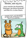 Cartoon: 3. Januar (small) by chronicartoons tagged schnappi,sendung,mit,der,maus,krokodil,kinderlied,cartoon