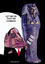 Cartoon: Mubarak Egypt (small) by ELCHICOTRISTE tagged mubarak,egypt