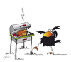 Cartoon: Grillsaison (small) by KADO tagged draw,zeichnen,art,kunst,styria,graz,steiermark,austria,illustration,cartoon,spass,humor,comic,kalcher,dominika,kadocartoons,kado,vogel,bird,animal,crow,krähe,grillen,barbecue,grillsaison,season