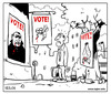 Cartoon: Vote (small) by tejlor tagged vote