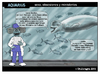 Cartoon: Aquarius (small) by DrCoragre tagged humor tira comic strip drawing digital