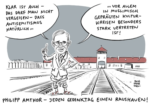 Antisemitismus Philipp Amthor