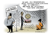 Cartoon: Guantanamo Obama (small) by Schwarwel tagged guantanamo obama verwahranstalt gefängnis terror terrorismus gefangenenlager gefangener lager us usa amerika folter verdächtige karikatur schwarwel qual schmerzen
