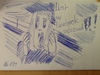 Cartoon: Der Schrei (small) by manfredw tagged schrei,scream,cry,facebook,munch,account,verloren