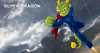 Cartoon: super dragon (small) by Leonluk tagged super dragon