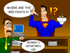 Cartoon: Super red pants (small) by undertoon tagged superman,pants