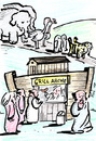 Cartoon: Grill-Arche (small) by bob tagged arche noah imbiss grill bibel
