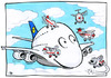 Cartoon: Airbus A380 Contest (small) by toonpool com tagged airbus380,airbus,lufthansa,contest,plane,flugzeug