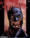 Cartoon: Zombie Batman (small) by nolanium tagged batman,zombie,the,dark,knight,dc,comics,nolan,harris,nolanium