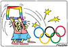 Cartoon: Homosexuals against Olympic game (small) by Igor Kolgarev tagged gays,olympics
