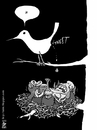 Cartoon: twitter (small) by raim tagged twitter raim