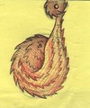 Cartoon: Pangolin (small) by claretwayno tagged pangolin,india,armadillo,aardvark