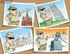 Cartoon: Arab Spring (small) by Ali Miraee tagged ali,miraee,mirayi,miraie,arab,spring,tourist