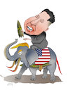 Cartoon: NUCLEAR TALKS! (small) by Shahid Atiq tagged trump,and,kim
