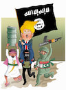 Cartoon: Suppoter of Terrorism! (small) by Afghancartoon tagged trump,afghanistan,safi,shahid,bahar,ieba,rayian,musa,kart,crni,berlin